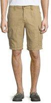 Robert Graham McAllister Linen-Blend Cargo Shorts