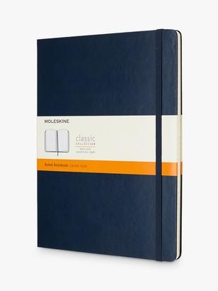 Moleskine Extra Large Hard Cover Ruled Notebook