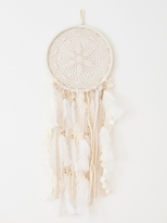 Oliver Gal Medium Handmade Boho Feather Dreamcatcher Wall Hanging