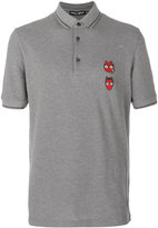 Dolce & Gabbana devil designers patch polo shirt