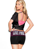 Victoria's Secret PINK Bling Yoga Shortie