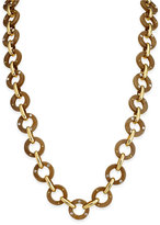 Kate Spade Out of Her Shell Gold-Tone Tortoiseshell-Look Long Necklace