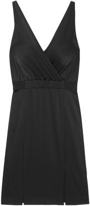 Rachel Zoe Norah Wrap-effect Satin-crepe Dress