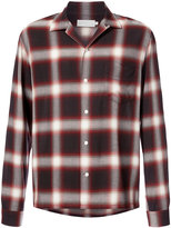 Vince plaid long sleeve shirt - men - Rayon - S
