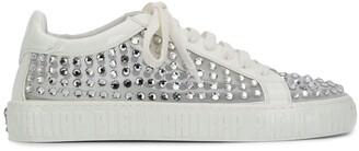 Philipp Plein Low-Top Crystal Sneakers
