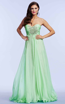 Mac Duggal Couture - 78437M Ornate Strapless Overlay Gown