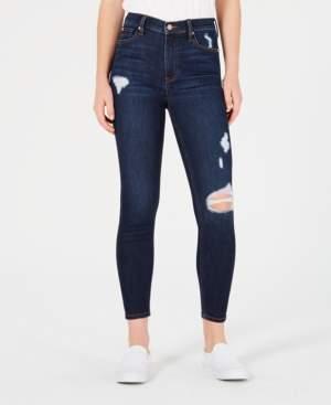 Celebrity Pink High Rise Destructed Ankle Skinny Jean