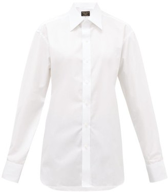 Emma Willis Superior Cotton-poplin Shirt - White