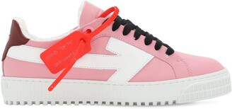 Off-White 20mm Arrow Leather Low Top Sneakers
