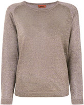 Missoni metallic knit jumper