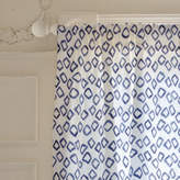 Minted Painted Pattern - Scattered Diamonds Self-Launch Curtains