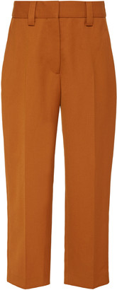 Acne Studios Patrina Wool-Blend Cropped Trousers