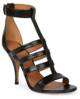 Givenchy Kali Line Leather Sandals