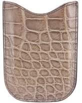 Gucci Crocodile Phone Sleeve