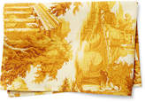 Maison Du Linge Toile Tea Towel - Gold/White