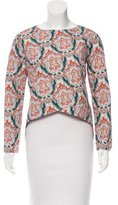 Carven Ornate High-Low Top