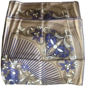 Cartier Camel Silk Scarves