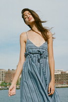 Mara Hoffman Tie Waist Midi Dress