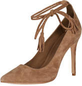 Joie Women's Angelynn Suede Ankle-Wrap Pump