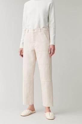 Cos Seam-Detailed Barrel Jeans