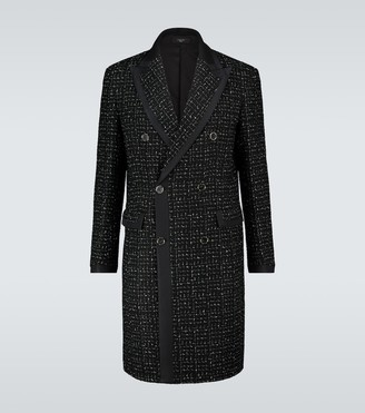 Amiri Double-breasted boucle coat