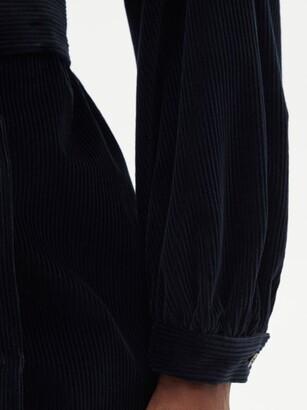 Weekend Max Mara Ceylon Dress - Dark Blue