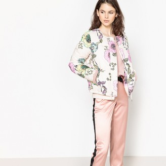 La Redoute Collections Floral Print Padded Jacket