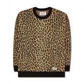 Wacko Maria Leopard Jacquard Knit