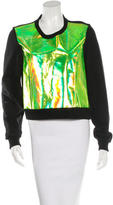 Markus Lupfer Holographic Roxy Sweater