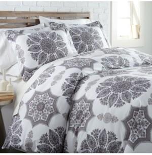 SouthShore Fine Linens Infinity Reversible Comforter and Sham Set, King Bedding