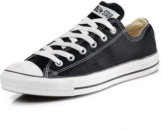 Converse Chuck Taylor All Star Ox Plimsolls - Black