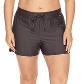 ZeroXposur Drawstring Solid Swim Shorts Plus