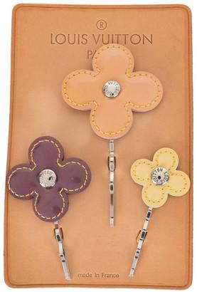 Louis Vuitton 2002 Pre-Owned Flower Hair Pins