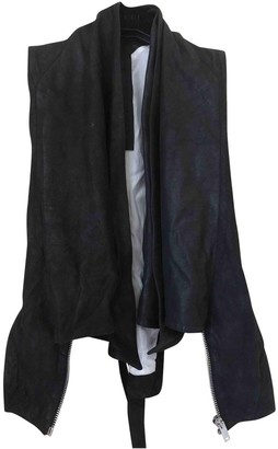 Gareth Pugh Black Leather Leather Jacket for Women