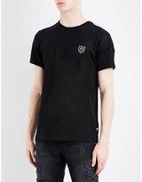 Philipp Plein Net-panel Cotton T-shirt