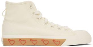 adidas x Human Made Off-White Nizza Hi Sneakers