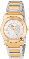 Salvatore Ferragamo Women's FI1010013 Vega Gold Ion-Plated Watch