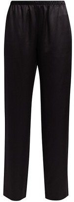 Adriana Iglesias Alessia Stretch-Silk Pants