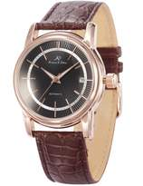K&S KS Imperial Men's Automatic Mechanical Date Display Brown Leather Band Watch KS234