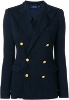 Polo Ralph Lauren double breasted jacket - women - Cotton/Polyester/Viscose - 4