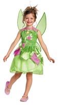 Disney Girls' Tinker Bell Costume 3T-4T