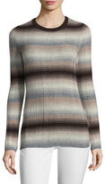 Autumn Cashmere Cashmere Ombre Striped Sweater