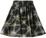 Fausto Puglisi sun and chain print skirt