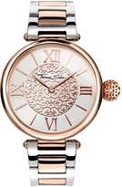 Thomas Sabo Karma White Dial Two Tone Stainless Steel Bracelet Ladies Watch