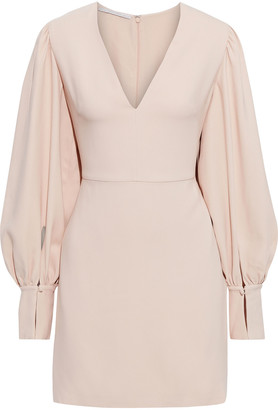 Stella McCartney Linda Gathered Stretch-crepe Mini Dress