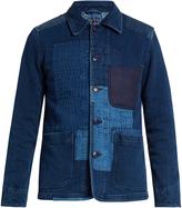 Blue Blue Japan Patchwork cotton jacket
