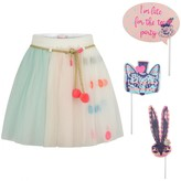 Multi-Coloured Tulle Skirt With Masks Set
