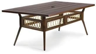 Eddie Bauer Echo Bay Aluminum Dining Table Frame Color: Mahogany