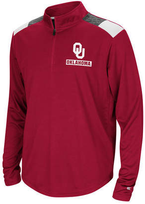Colosseum Oklahoma Sooners 99 Yards Quarter-Zip Pullover, Big Boys (8-20)