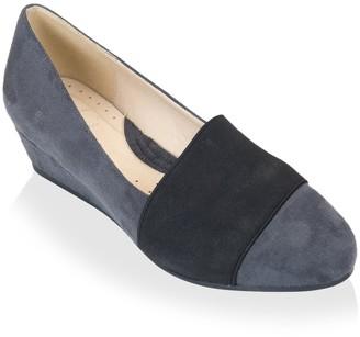 GC Shoes Women's Wedge Pump Gray 6 M US